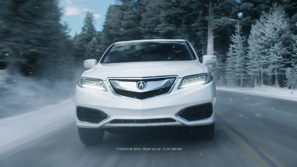 讴歌SUV 挑战冰雪极限驾驶