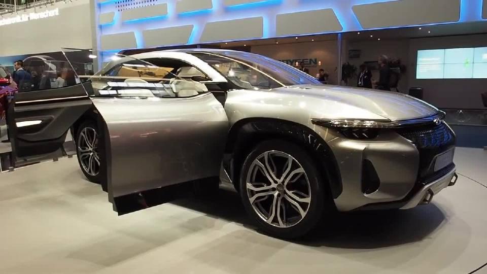 奇瑞瑞虎coupe发布预计未来量产的可能性较大