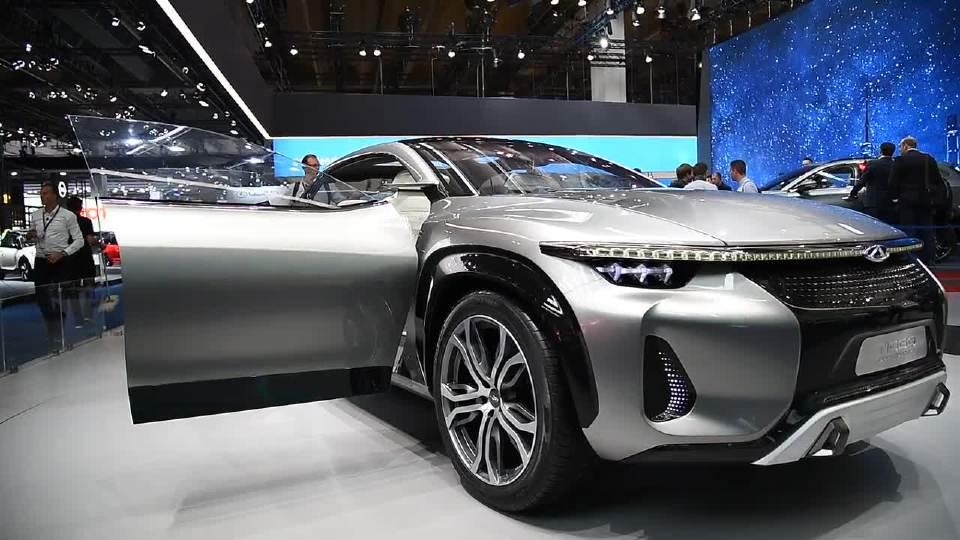2017年奇瑞Tiggo Coupe全球首发 科技感十足
