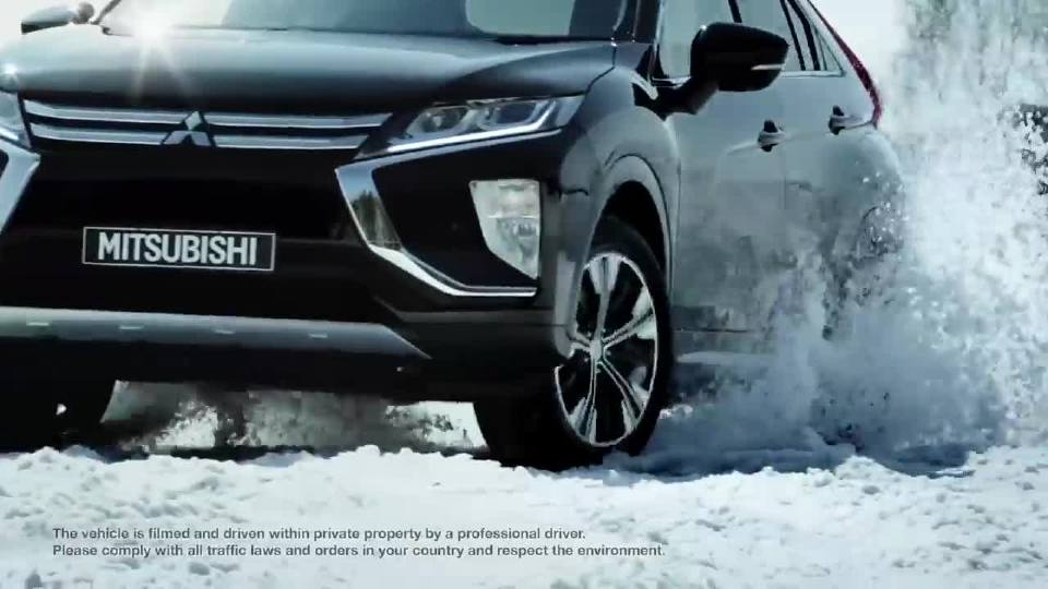 三菱Eclipse Cross 雪地试驾