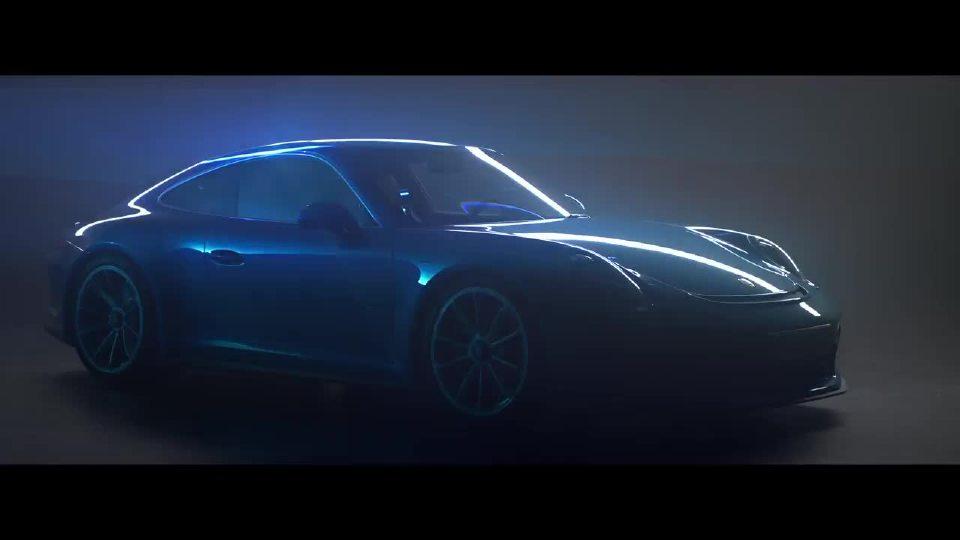 保时捷911 GT3无时无刻汇聚光与影的交错