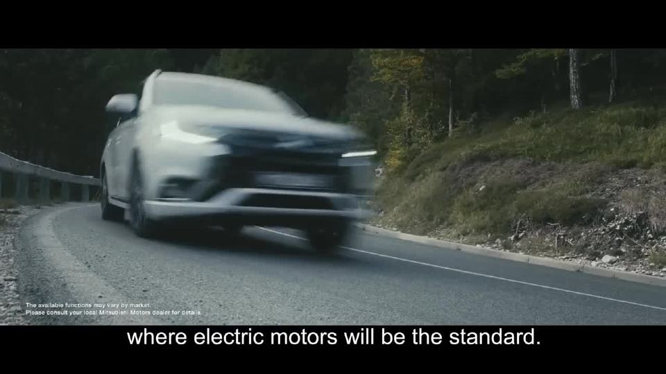 三菱汽车品牌宣传视频