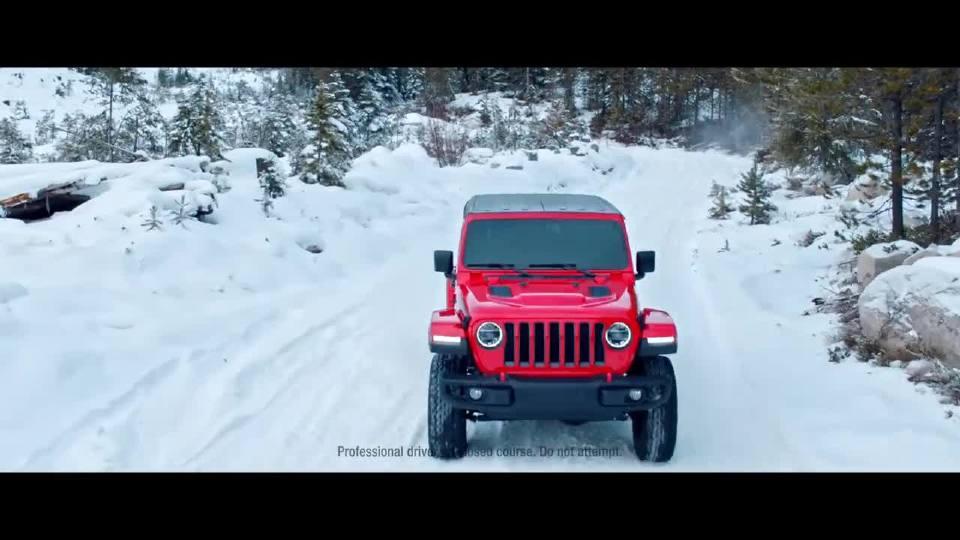 Jeep带你领略极寒的冰雪极限运动之路