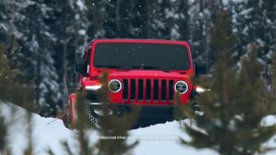 Jeep带你体验冰雪极限运动 寒冷热情不减