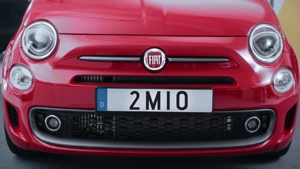 菲亚特500c第200万辆车的幻想 缘分如此
