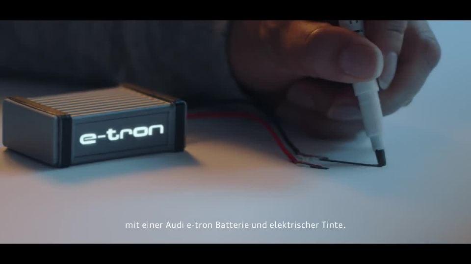 奥迪e-tron quattro概念和电子墨水