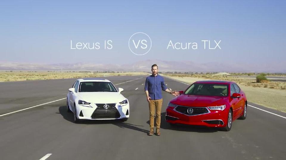 雷克萨斯IS 300和讴歌 TLX 视频比较