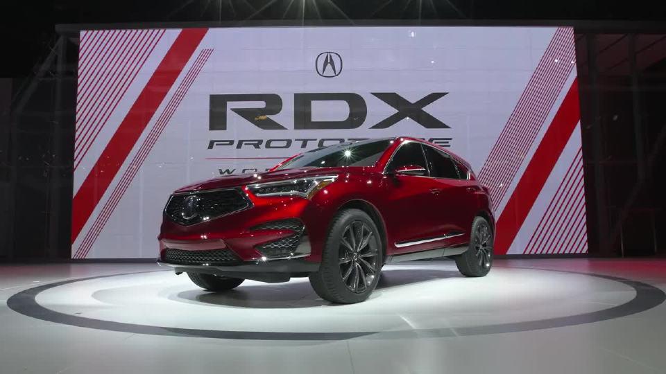 讴歌 RDX原型 2018年北美国际汽车展