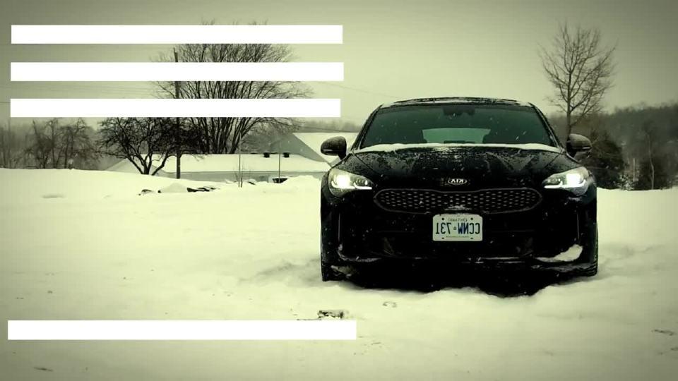 2018款起亚Stinger 外媒冬季驾驶评测