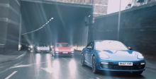 保时捷驰骋在伦敦街道完成一项艰巨任务