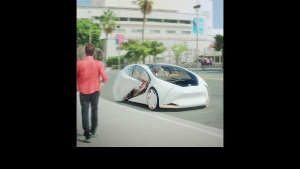 丰田概念再次刷新人类对交通工具的认知