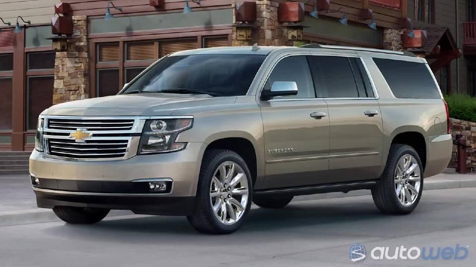 最佳大型SUV奖就看2018雪佛兰Tahoe