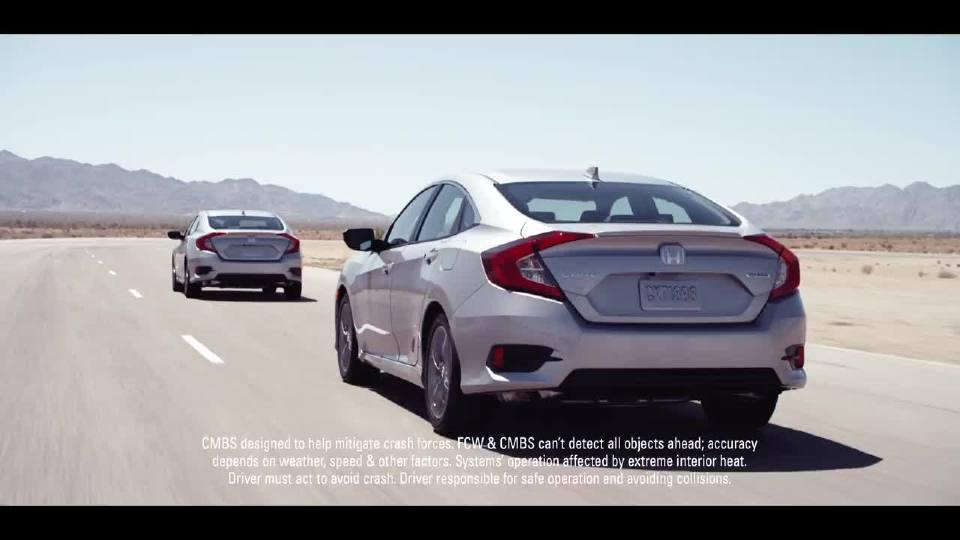 安全驾驶与安全辅助系统 本田科技安全第一