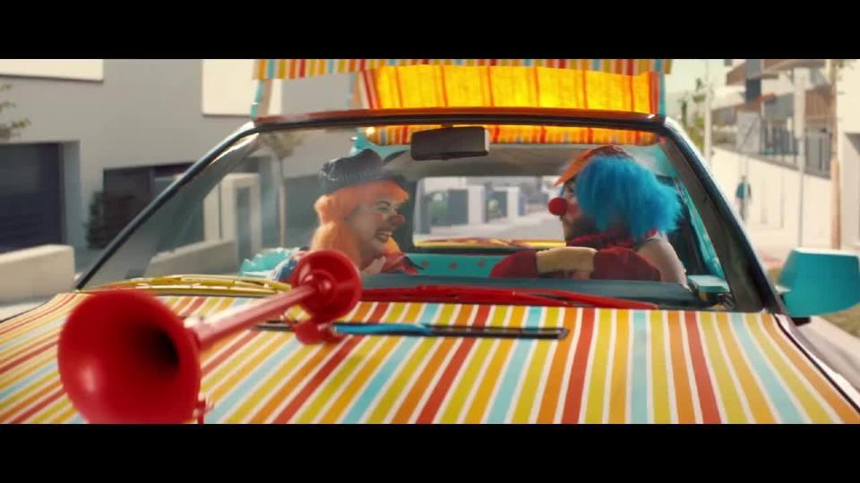 奥迪小丑电视广告加长版