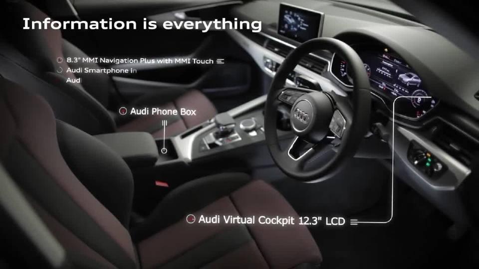 奥迪A4轿车Sport运动和舒适的把握恰到好处