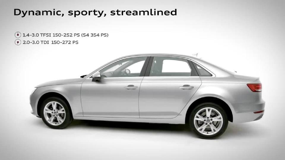 奥迪A4轿车Sport是一台运动性能超强的轿车