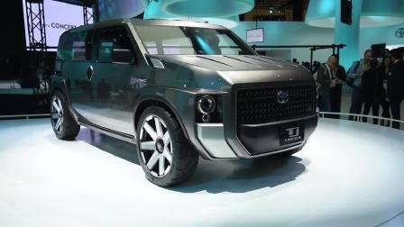 丰田 TJ Cruiser 概念车的全新布局
