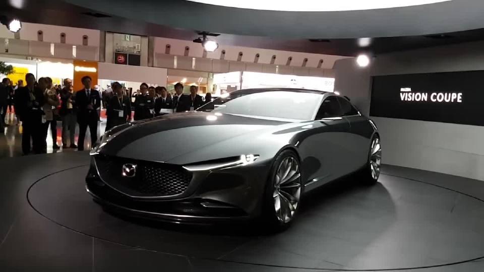 2017东京车展—马自达Vision Coupe概念车预示着未来马自达旗下全新产品系列设计理念