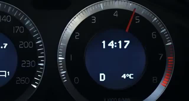 Volvo S60麋鹿测试