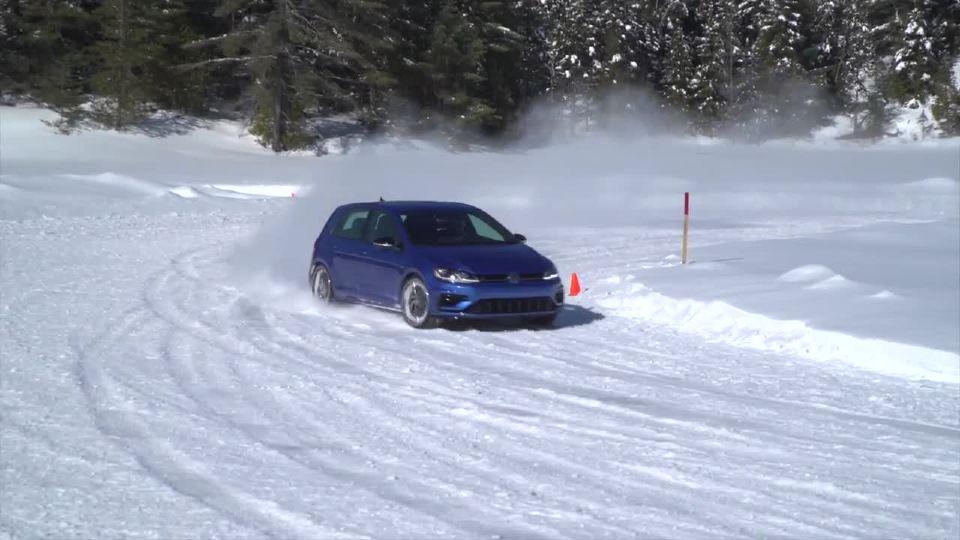 美丽加拿大 大众进行完美四驱系统测试