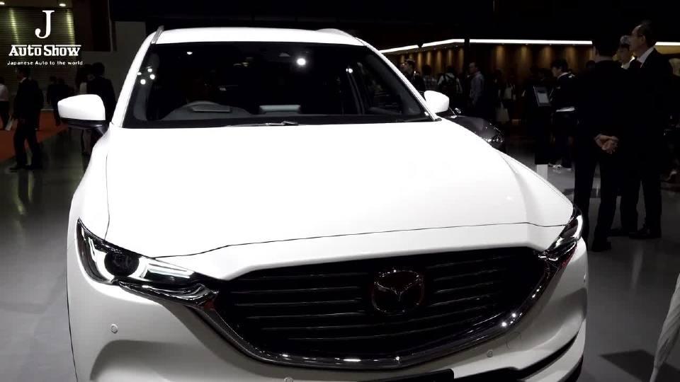 马自达全新中型SUV CX-8 车展现场带你看
