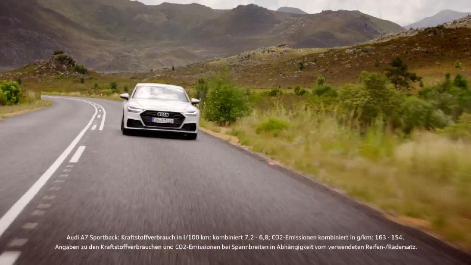 奥迪A7运动性和舒适性最好的融合