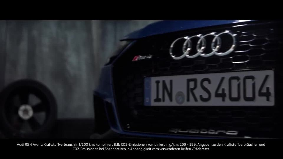 奥迪RS 4 Avant冷静中等待爆发