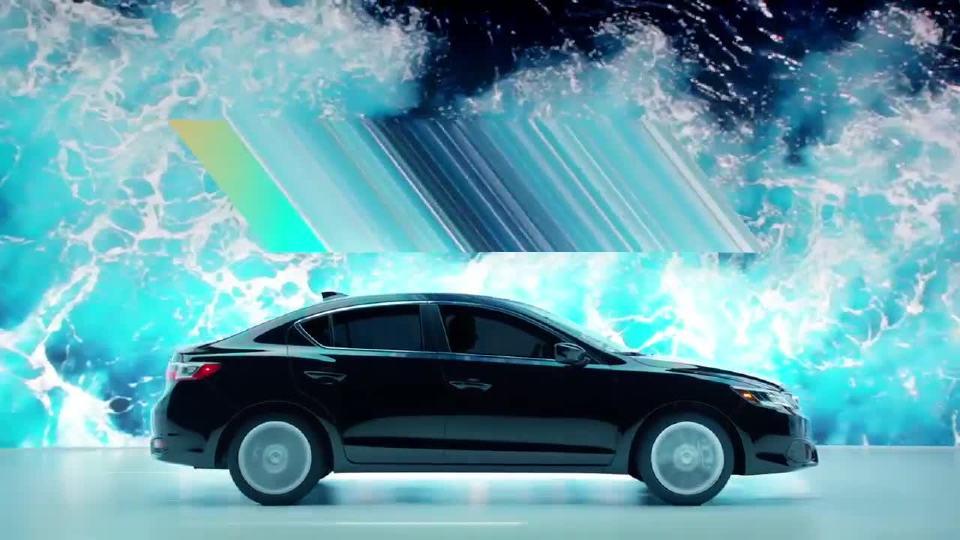 讴歌 精彩广告TLX全新设计风格 海岸主题