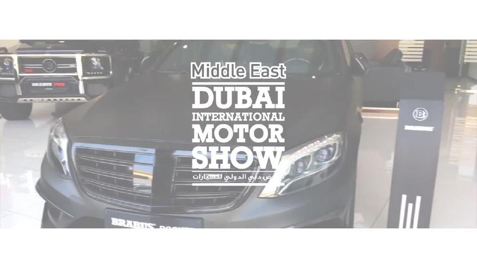 巴博斯迪拜国际车展花絮3 外媒拍摄