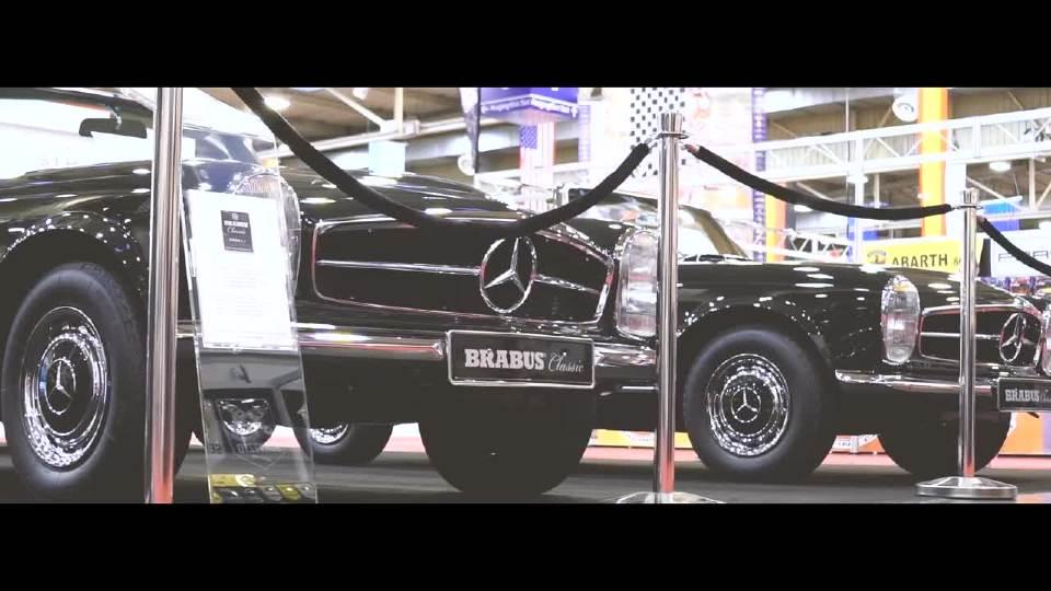 巴博斯迪拜国际车展花絮1 外媒拍摄
