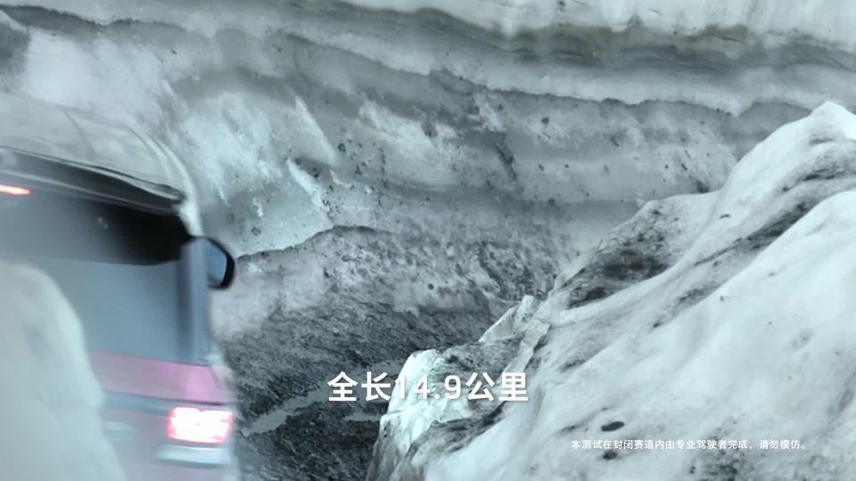 瑞士雪朗峰路虎 揽胜运动版米伦雪道速降挑战