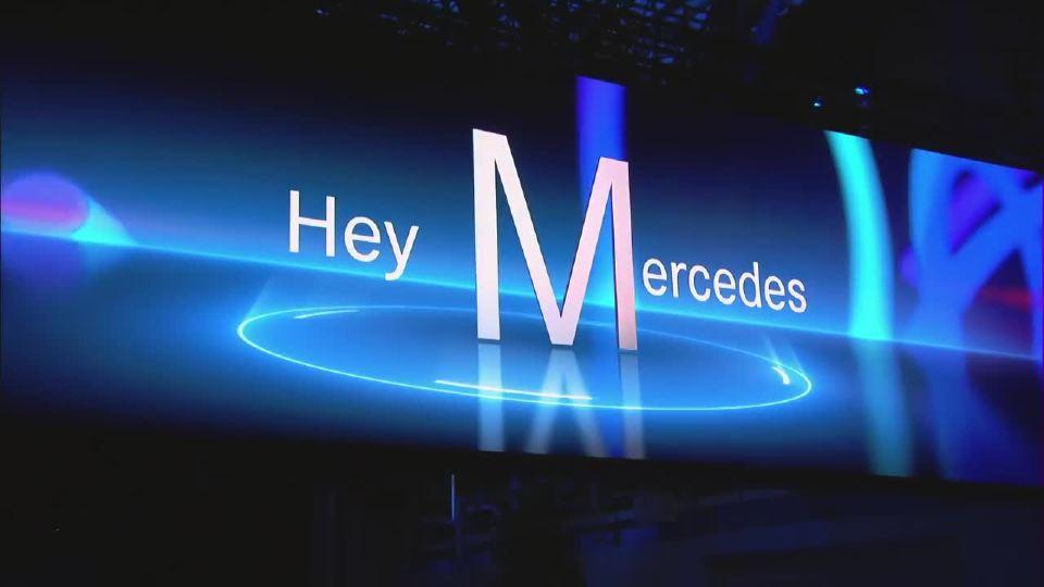 Hey Mercedes 奔驰A级发布现场精彩回顾