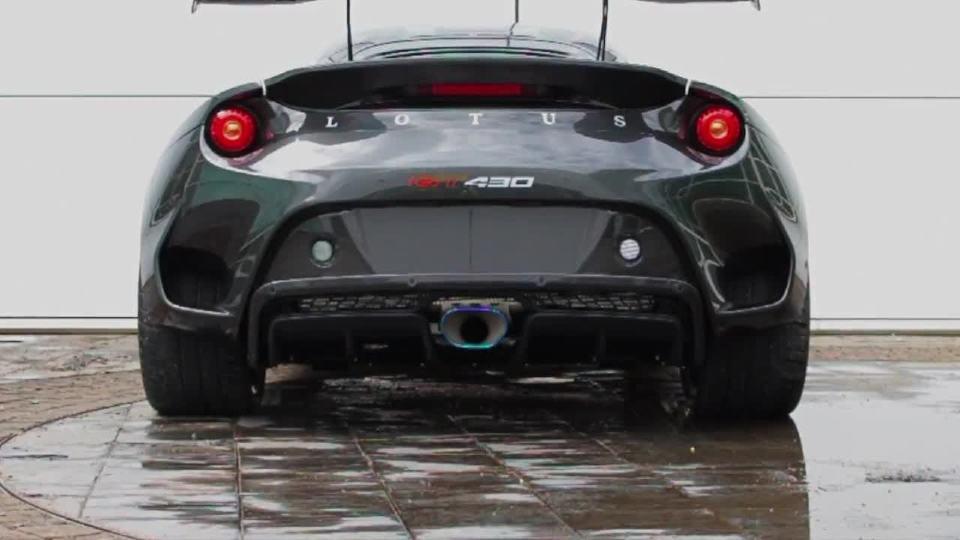 路特斯Evora GT430 时刻流露着不安分