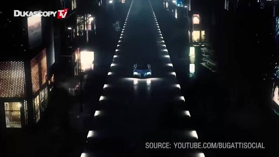 2018日内瓦车展 布加迪霸气的外观醒目