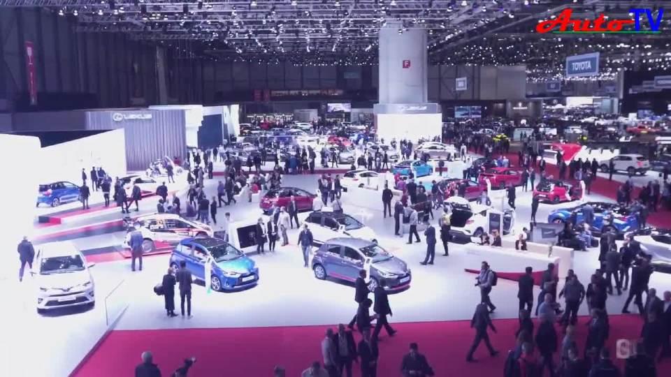 2018日内瓦车展 来自全世界的车迷汇聚一起