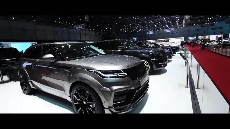 2018日内瓦车展 巴博斯Brabus800 Coupe