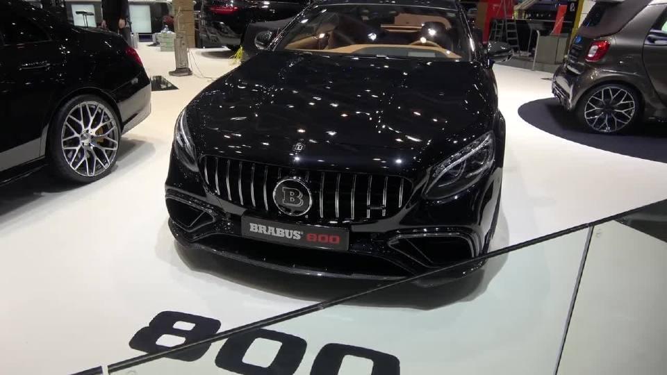 巴博斯800亮相2018日内瓦国际车展