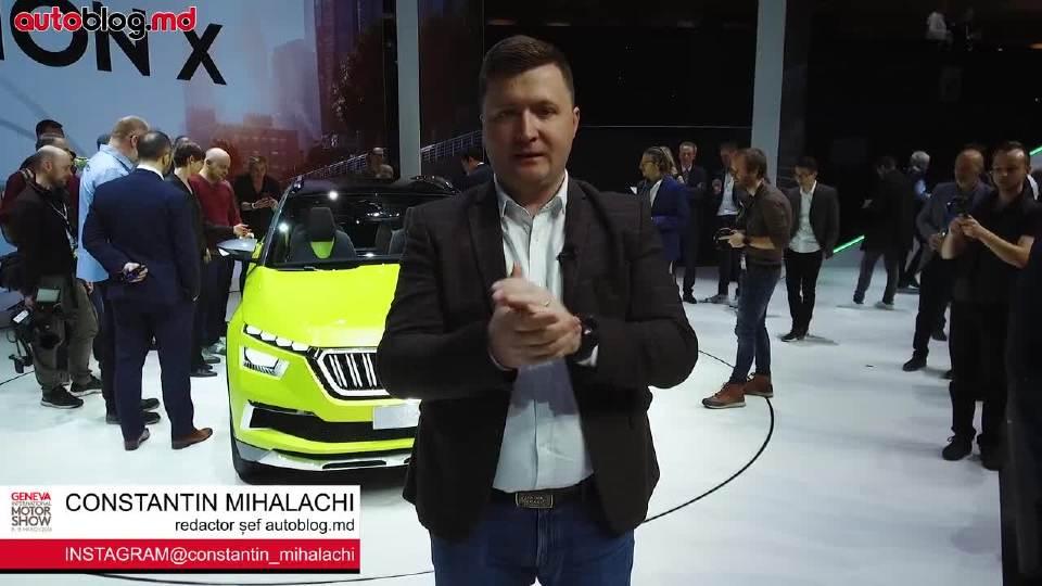 斯柯达三款车型亮相2018日内瓦车展