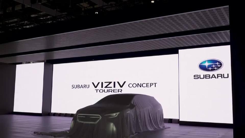 2018日内瓦车展 斯巴鲁VIZIV概念车强势来袭
