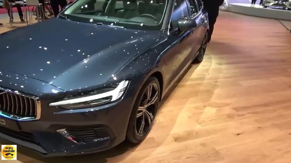 2018日内瓦车展 沃尔沃V60 T6