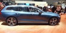 2018日内瓦车展 沃尔沃V60展台