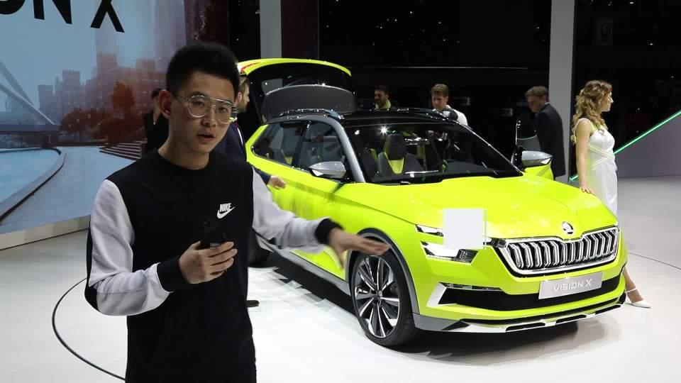 2018日内瓦车展 斯柯达VISION X概念车
