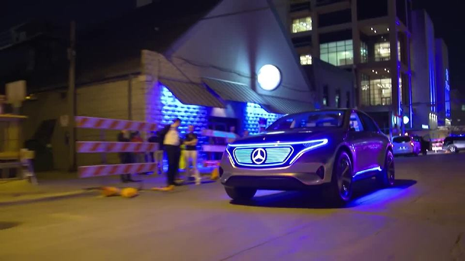 这款EQ概念SUV 诠释了奔驰的人工智能