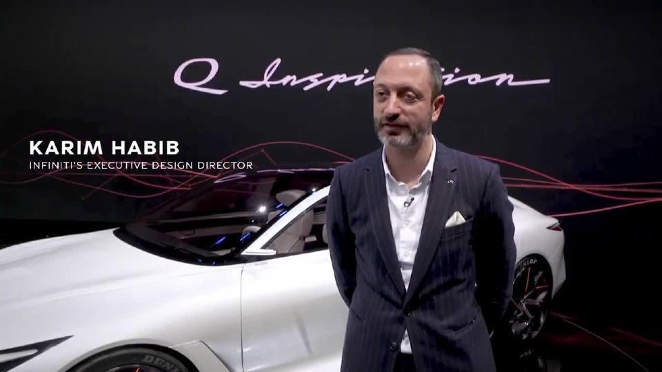 英菲尼迪全新概念跑车 独特的设计语言