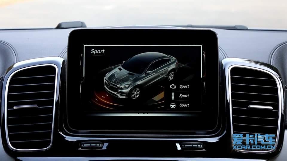 奔驰GLE 轿跑SUV 驾驶模式展示