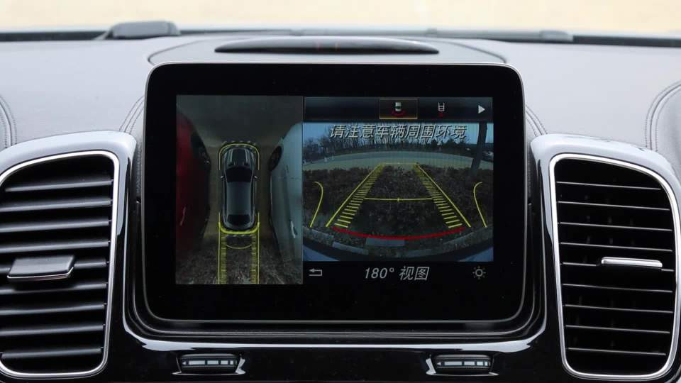 奔驰GLE 轿跑SUV 全景影像展示