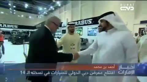 迪拜新闻电视台报导巴博斯迪拜车展