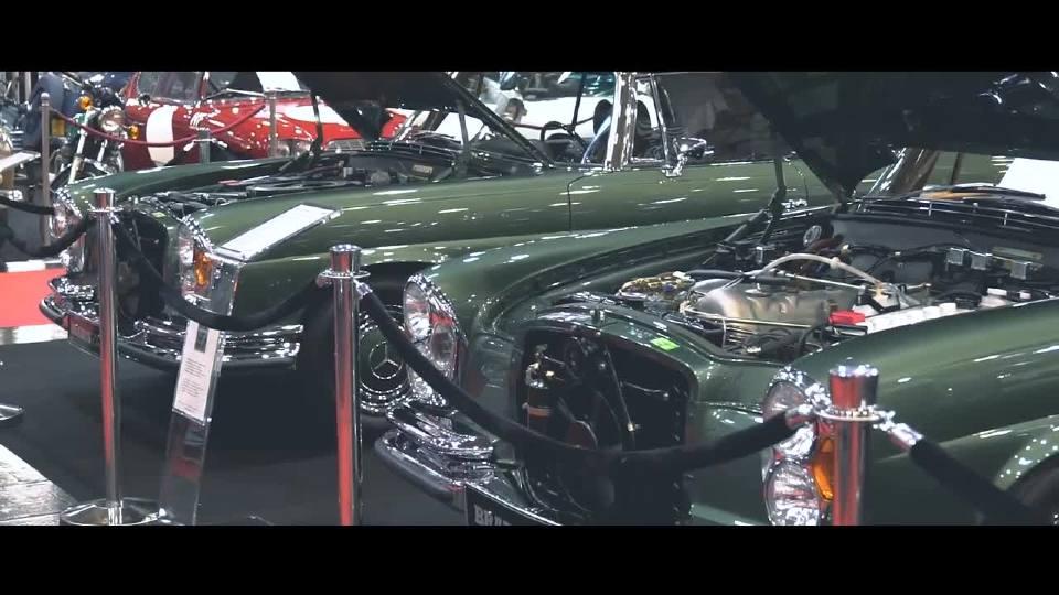 巴博斯全新旗舰店 各种经典车型展示