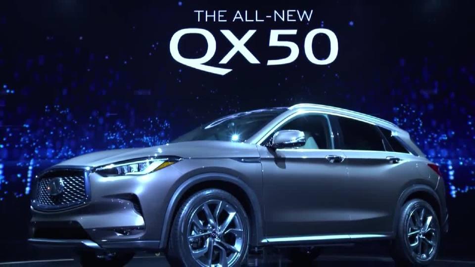 英菲尼迪QX50 开启家庭用车的新篇章