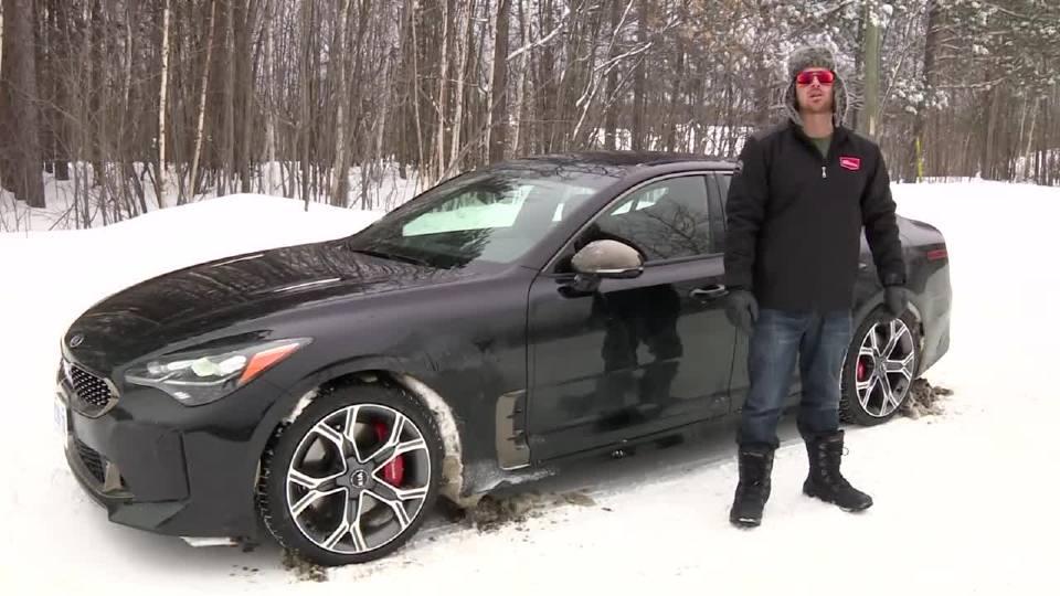 2018款起亚Stinger GT雪地大测试